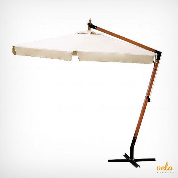 Bonito y decorativo parasol excéntrico de madera en oferta. Mira qué precios ahora!