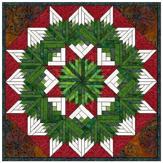 This Would Be A Beautiful Tree Skirt
