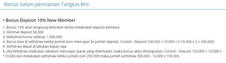 Bonus / Tangkas Bro