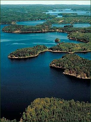 Boundary Waters Canoe Area Wilderness, Minnesota/Canada.  Pure and unspoiled