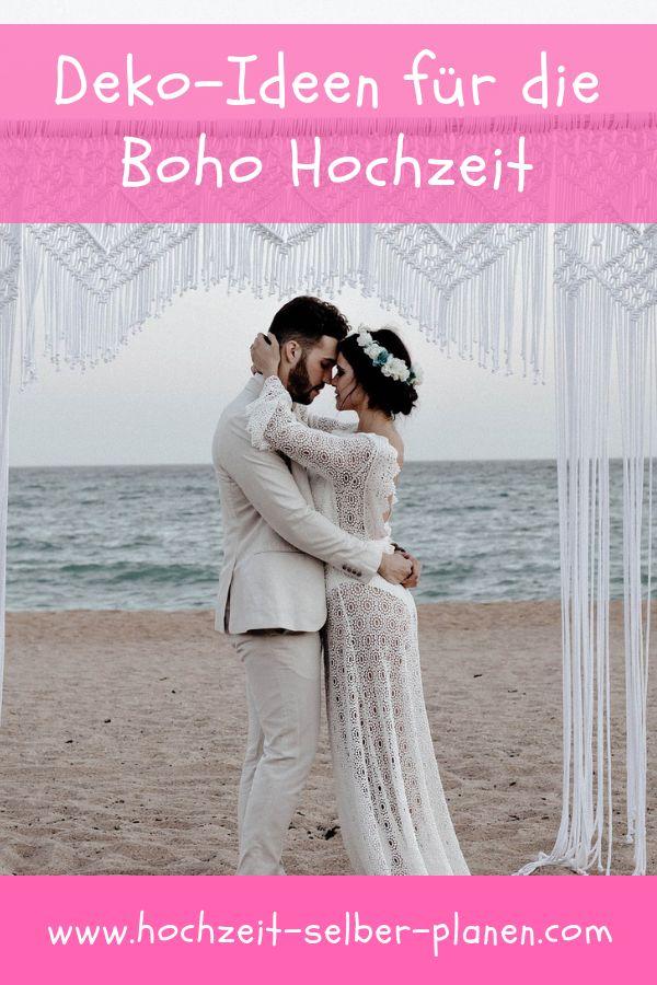 Schöne Deko Ideen für die Boho Hochzeit