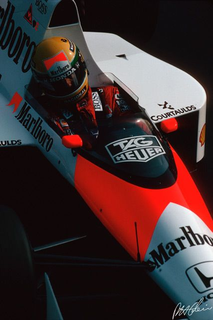 Senna 1989 Italy - Photo from The Cahier Archive