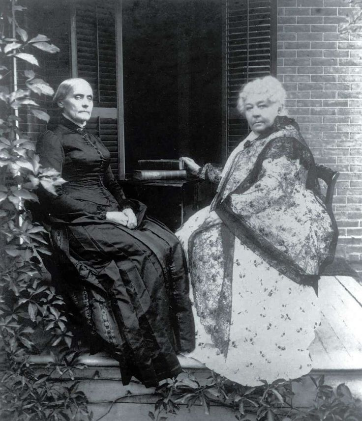the contributions of elizabeth cady stanton to the women suffrage movement in the united states American history women's suffrage study play what was the seneca fall convention  most famous: elizabeth cady stanton and lucretia mott 300 women and men, mostly by white middle-class women  have started the 2nd wave of the feminist movement in the united states when- published in 1963.