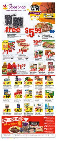 Stop and Shop Circular March 3 - 9, 2017 - http://www.olcatalog.com/grocery/stop-and-shop-circular.html