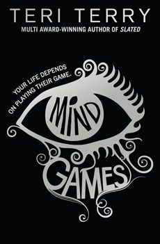 Mind Games by Teri Terry. In a future world, life is tightly controlled by the all-powerful PareCo. Standing out from the crowd is dangerous so misfit Luna hides her secrets carefully, not realising her own power. Unlike her friends and family, Luna has never been able to plug into Realtime, PareCo's virtual world, where almost everyone now lives their lives. So how do PareCo know about Luna, and why do they want her for their elite think tank?