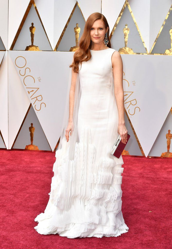 Darby Stanchfield Oscar 2017 Red Carpet Arrival: Oscars Red Carpet Arrivals 2017 - Oscars 2017 Photos | 89th Academy Awards