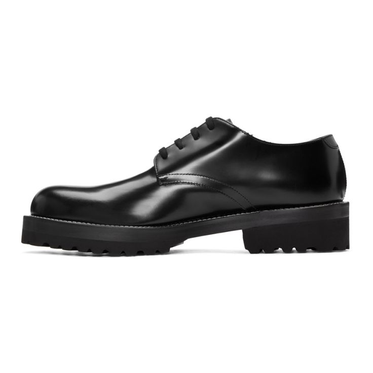 Marni - Black Leather Derbys