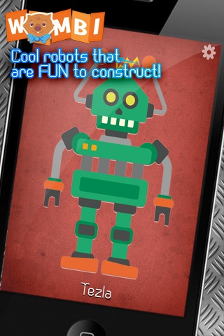The Robot Workshop is an innovative jigsaw puzzle where kids in a fun and clever way will practice their logic thinking. From 2 years.