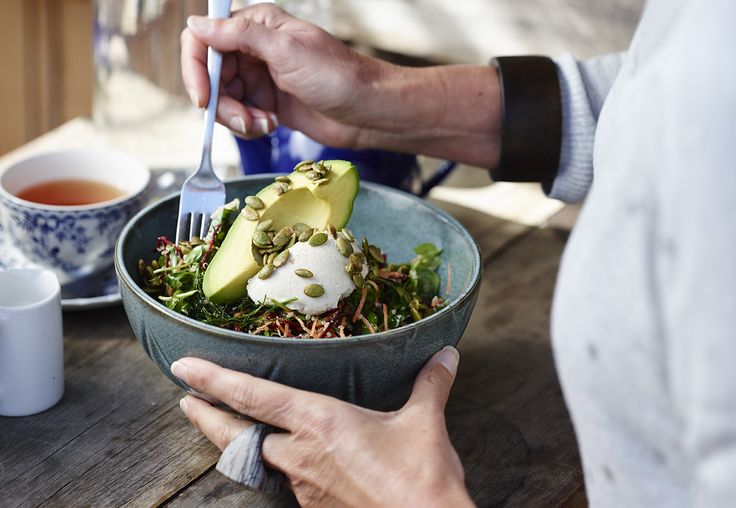 The Farm Cafe shares its recipe for a simple, nutritious Super Salad that will keep you fuelled all day long.