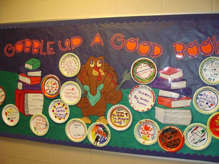 Great Thanksgiving bulletin board display!!!!!Bulletinboards