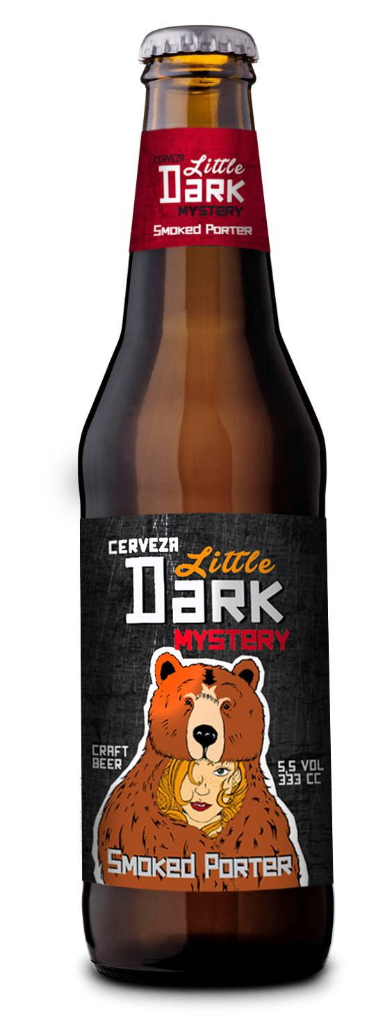 Dark Little Mystery. Smoked Porter #craft #beer #craftbeer #cerveza #Tubinger #Loom #Porter