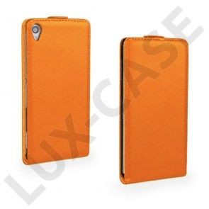Winther (Orange) Sony Xperia Z3 Ægte Læder Etui