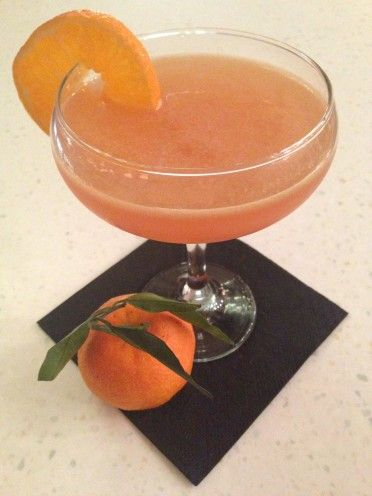 Spiced Clementine Cosmo - Christmas Cocktails