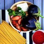 Ricotta salata e melanzane