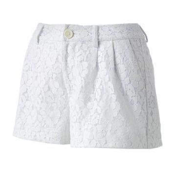 LC Lauren Conrad Lace Shorts