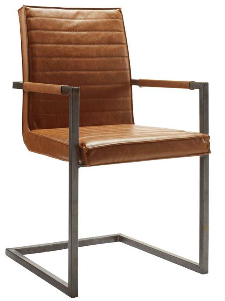 eetkamer stoel Caldes Pronto Wonen ook in chocolade bruin & zwart verkrijgbaar