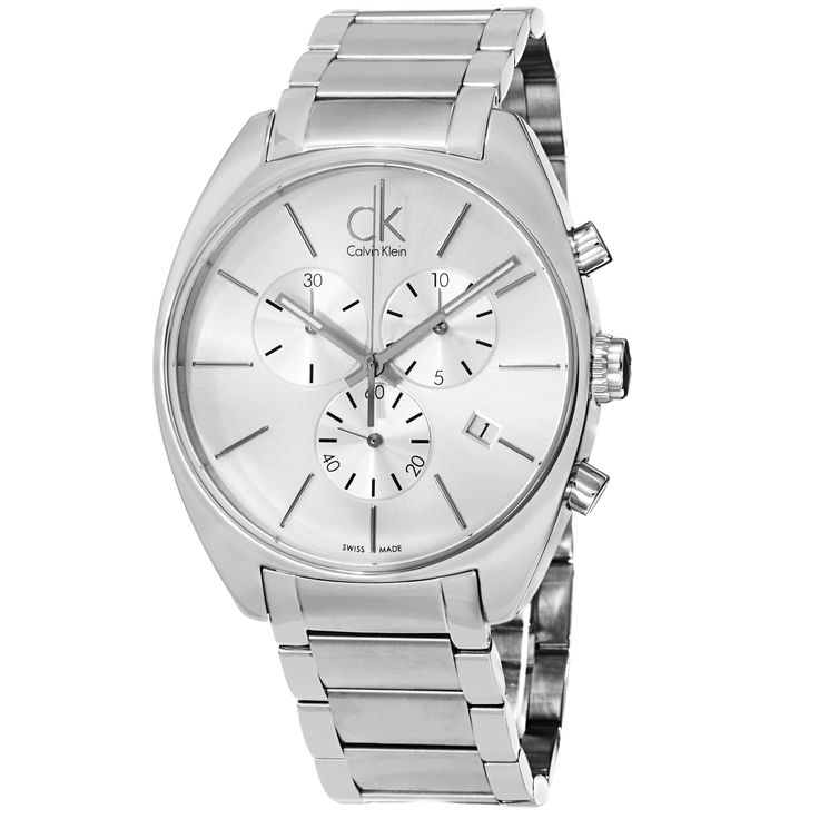 Calvin Klein Men's Exchange K2F27126 Stainless-Steel Swiss Quartz Watch