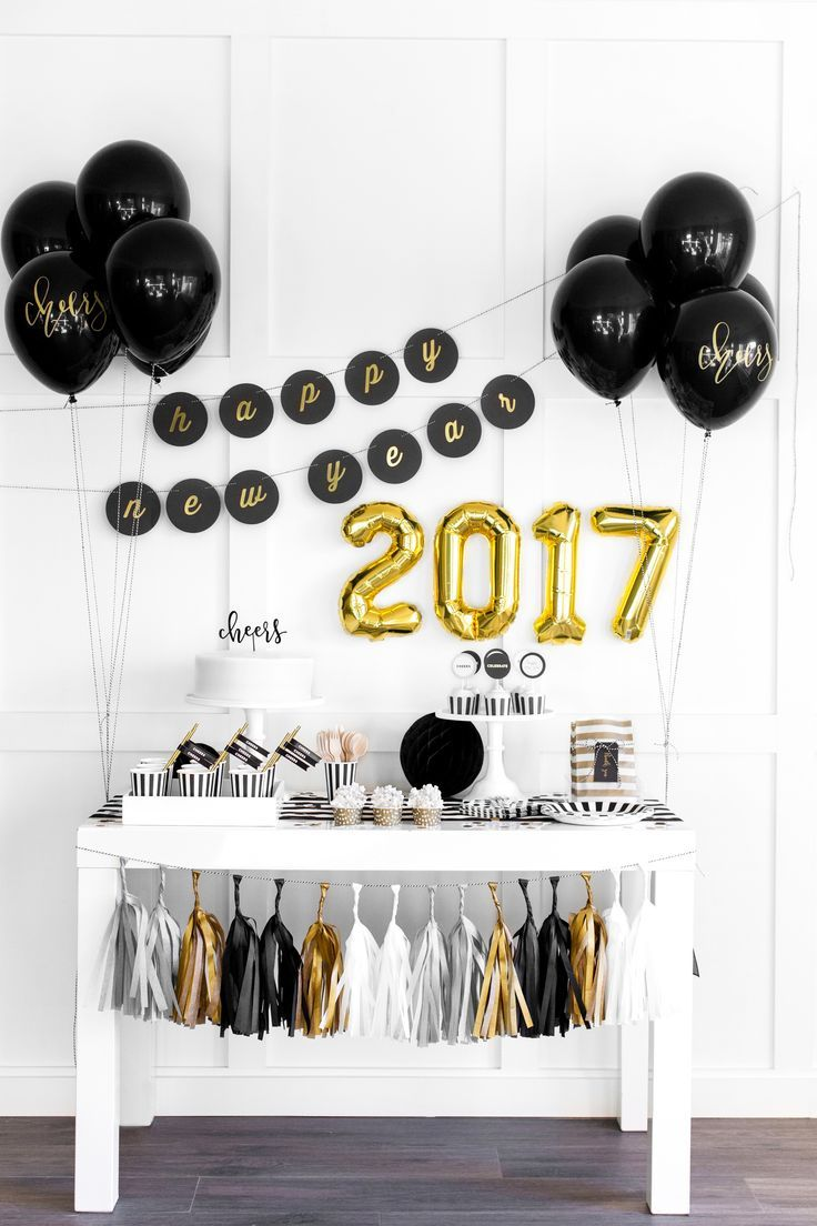 Host a fabulous New Year's Eve party!
