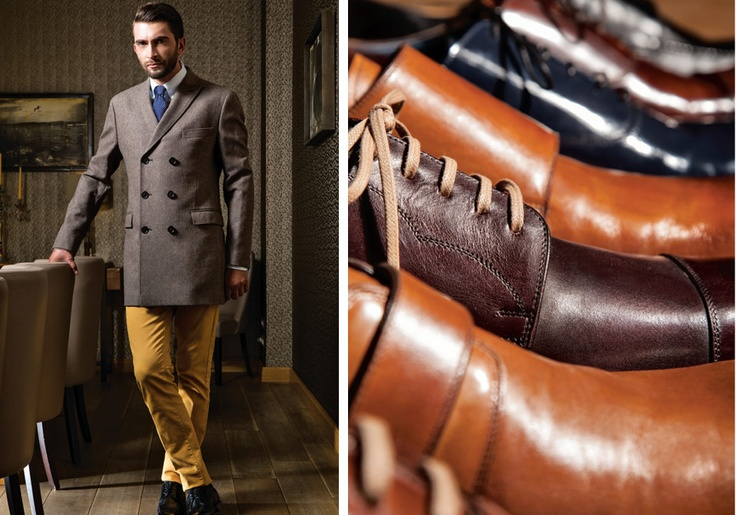 Winter Warm Coat & Handmade Shoes