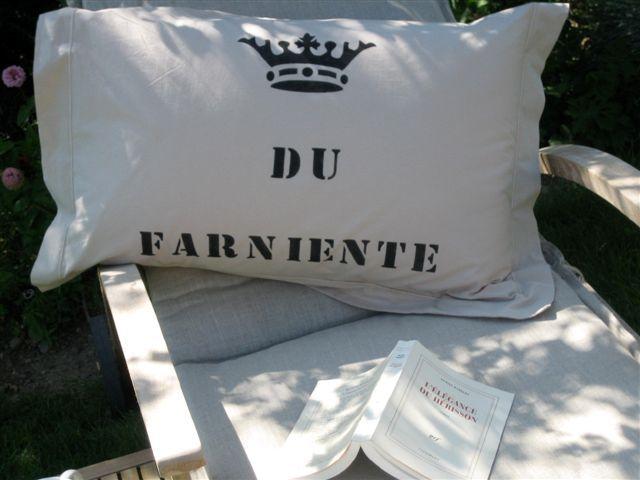 D tente by l onore d co pochoir stencil paint on fabric peinture sur tissus - Pochoir eleonore deco ...