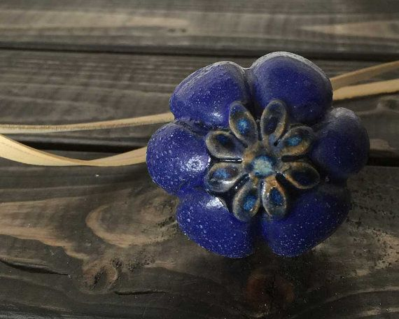 ARTISTIC REFINEMENTS - Handmade Drawer pull  Perfect accent for furniture, cupboards, closets, craft projects. Anywhere you want a delightful