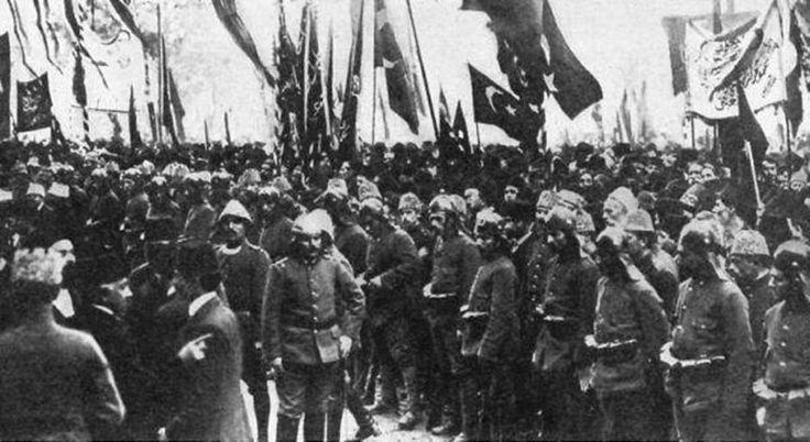 TARİH : Birinci Dünya Savaşı Sonunda Osmanlı İmparatorluğu'nda N eden Rejim Değişikliği Olmadı ?