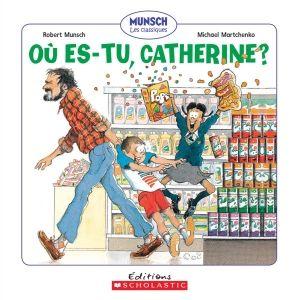 Le père de Catherine refuse de lui acheter des gâteries au magasin : aucun bonbon ni biscuit ni crème glacée. Mais lorsque la vendeuse place une étiquette de prix sur le nez de Catherine, son papa se doit d'acheter quelque chose de bon!