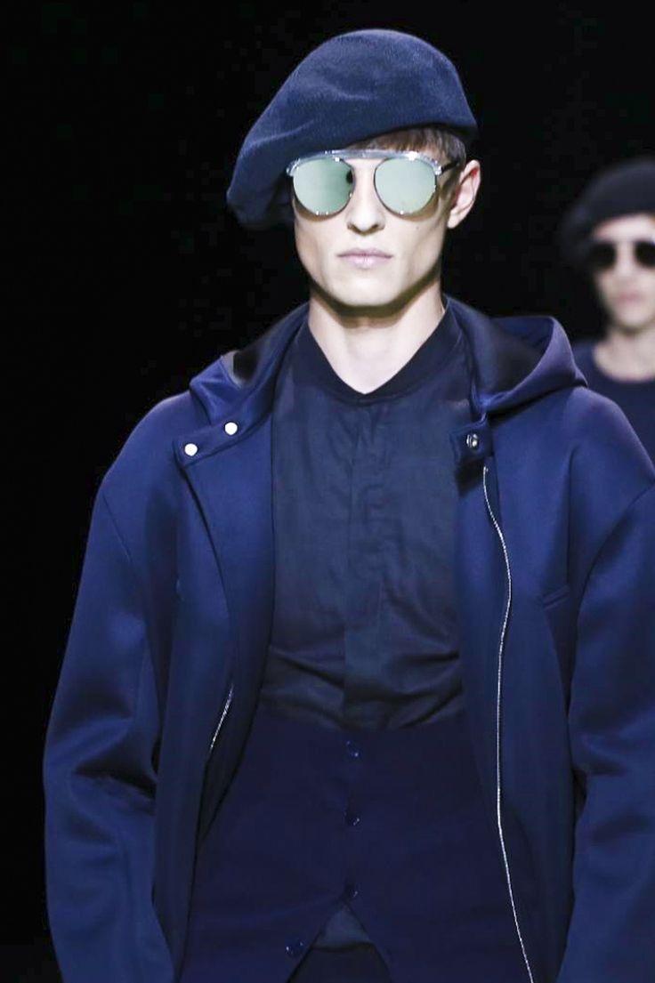 Emporio Armani Menswear Spring Summer 2016 Milan - NOWFASHION