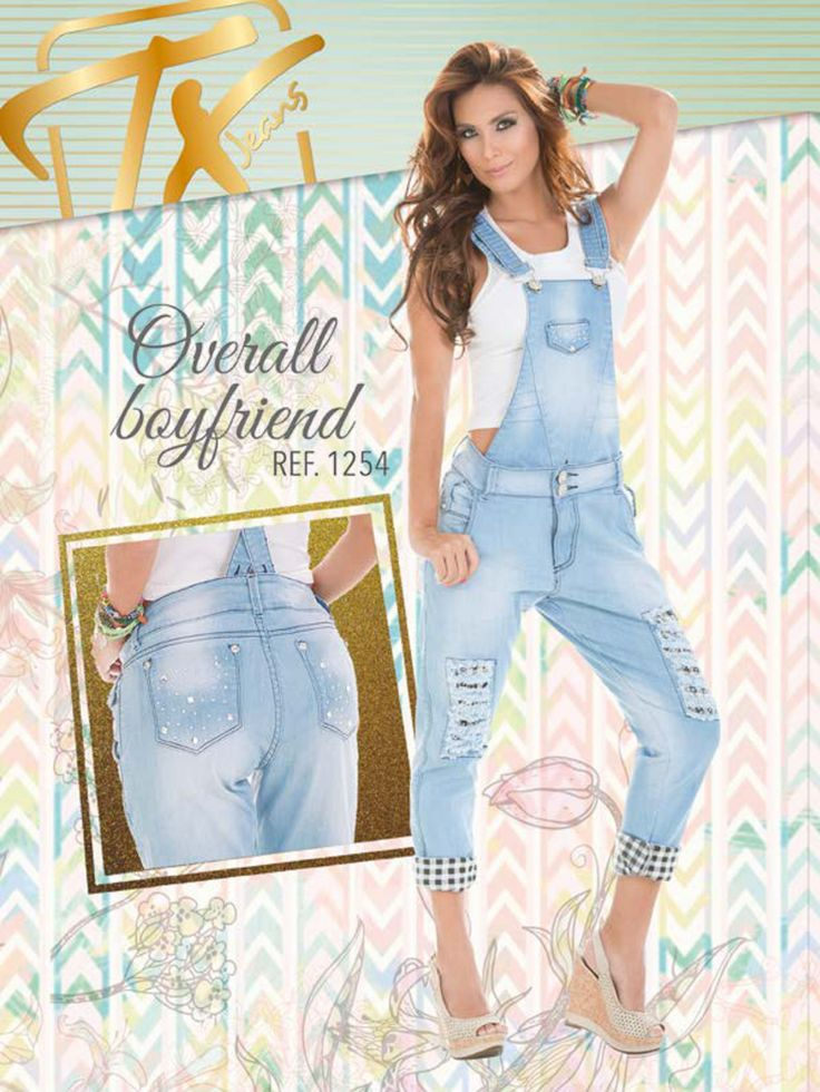 #Boyfriend Jeans. #catalogo. #diseños 2015. #overall, #overol