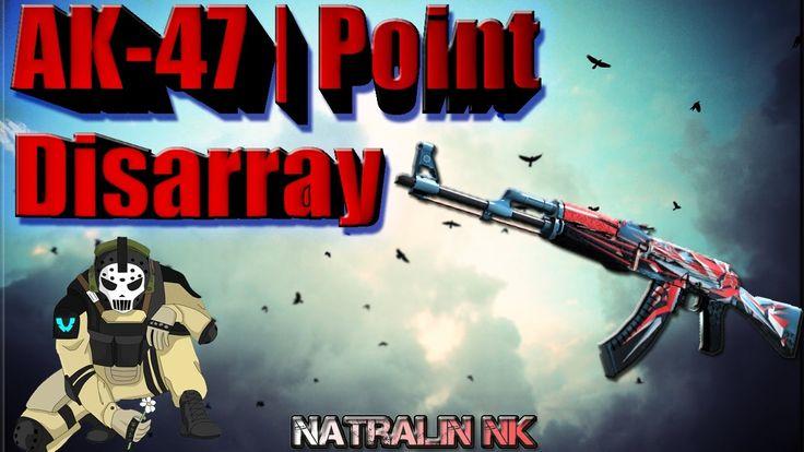 "CS:GO-TOP 5-Sticker Combinations: ""AK-47""   Point Disarray (Буйство красок)"