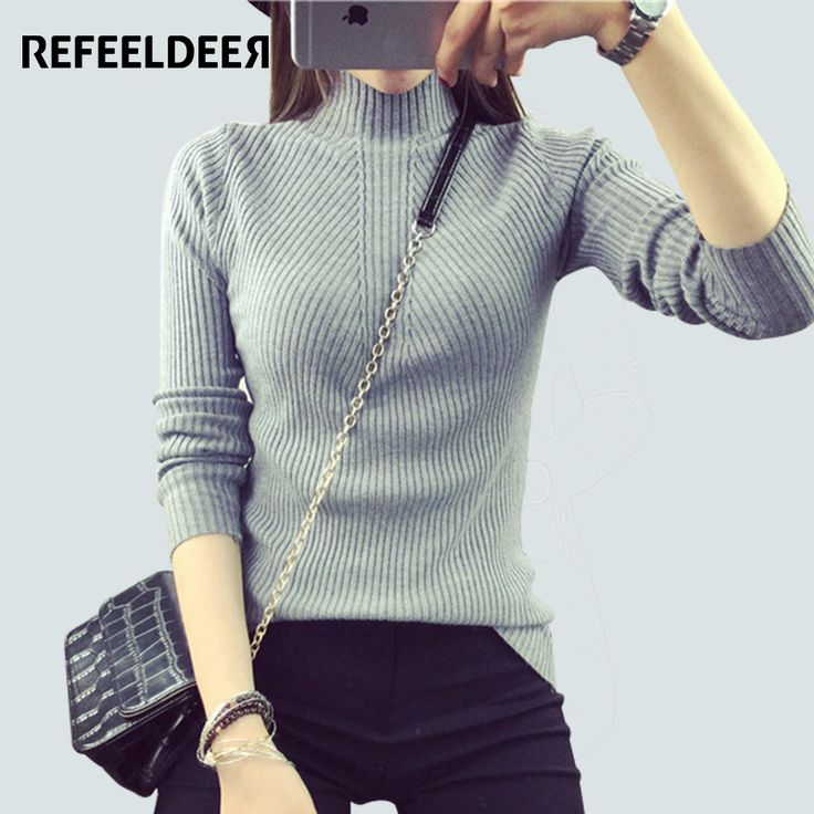 #aliexpress, #fashion, #outfit, #apparel, #shoes #aliexpress, #Spring, #Autumn, #Elastic, #Knitted, #Women, #Sweaters, #Pullovers, #Female, #Turtleneck, #Womens, #Jumpers, #Black, #Femme