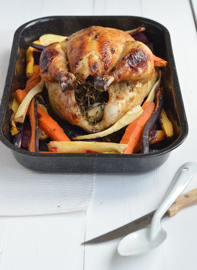 hele kip uit de oven - Pauline's Keuken