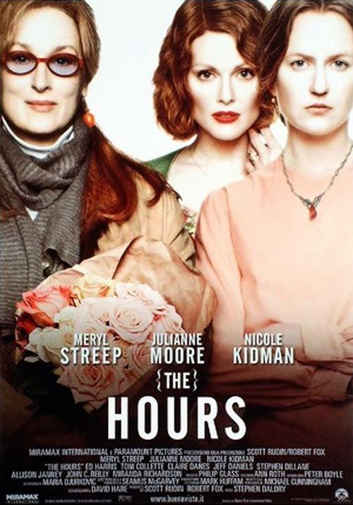 The Hours, an unbelievable film that uses Virgina Woolf's Mrs. Dalloway to portray the lives of three different women from three different eras. All the performances are brilliant! Nicole Kidman deserved her Oscar for her portrayal of Virginia Woolf.