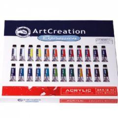 Talens ArtCreation Acrylic 24 Renk Akrilik Boya