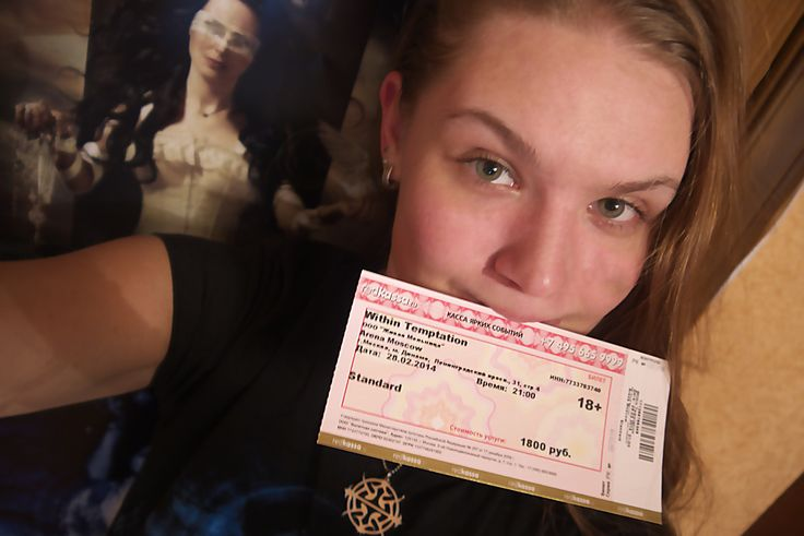 #WTworldtour Yes, I'm obsessive girl from Moscow. Sorry XD