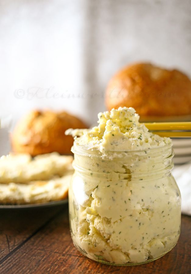Italian Garlic Butter---been using this for years   On EVERYTHING  LOL