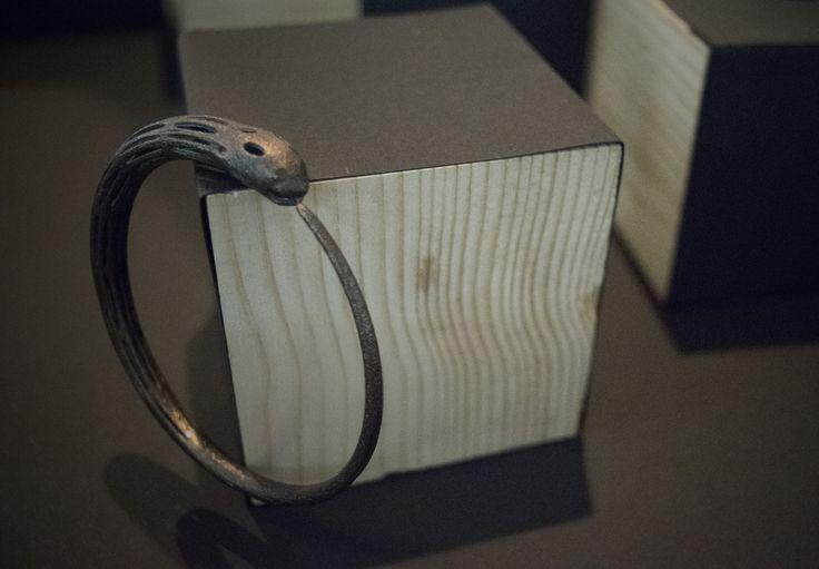 3D Printed Bracelet, Matte Black Steel #jewellery #3DPrinted