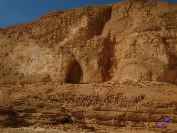 White Canyon Sinai egypt .Photograph Colette H. Guggenheim