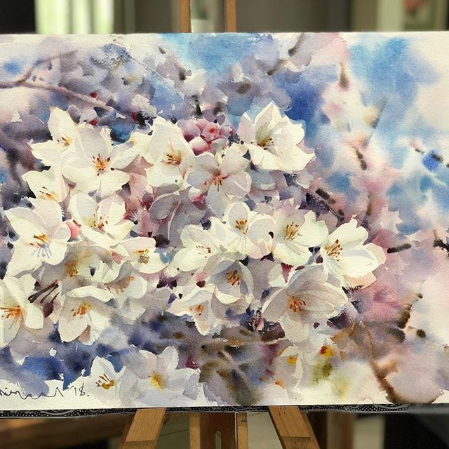 Watercolorist: @adisornpornsirikarn #waterblog #акварель #aquarelle #drawing #art #artist #artwork #painting #illustration #watercolor #aquarela