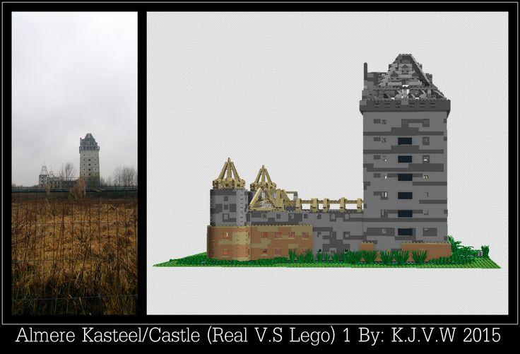 https://flic.kr/p/xvNHRB | Kasteel Almere (Lego V.S Real) 1 | Part 1