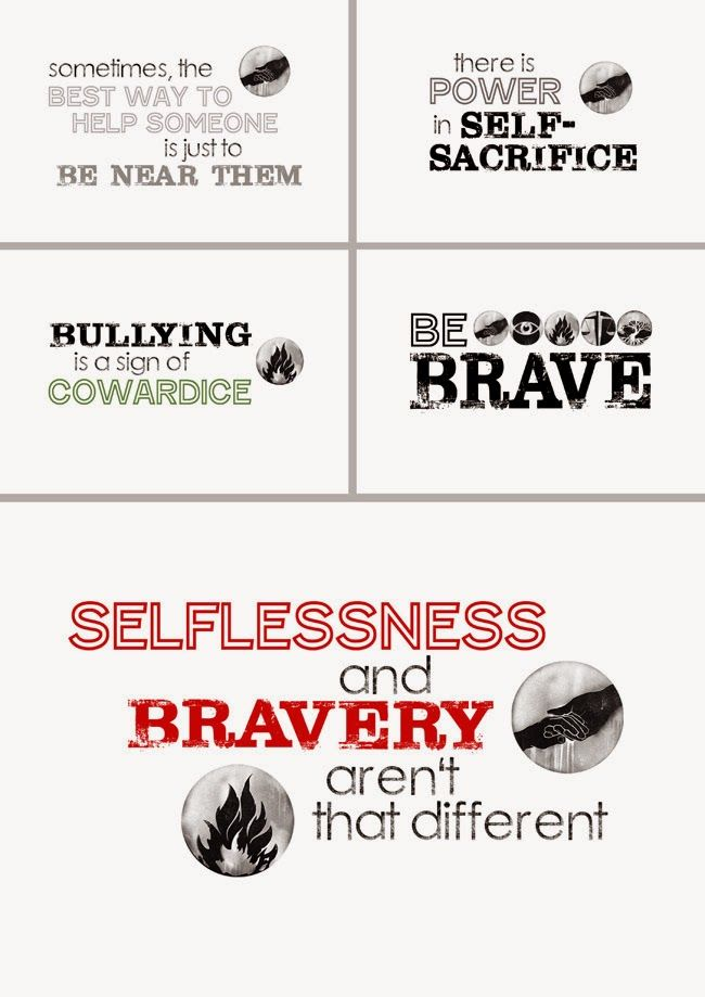 Capital B: Favorite DIVERGENT Quote Printables