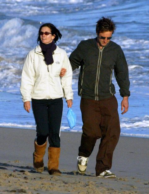Courteney Cox - we love the blue ... #cleanitup