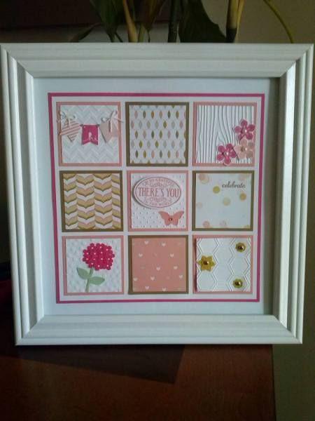 Framing A 10x10 Room: 10x10 Frame By Jacqueline Musta, Strawberry Slush, Crisp
