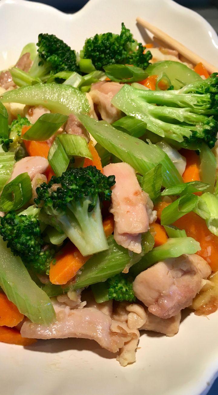 Chicken And Vegetables Stir Fry Recipe Chicken And Vegetables Vegetables Vegetable Dishes