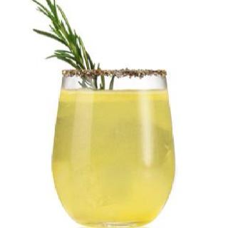 Lemon Vodka Ice Tea With Lavender