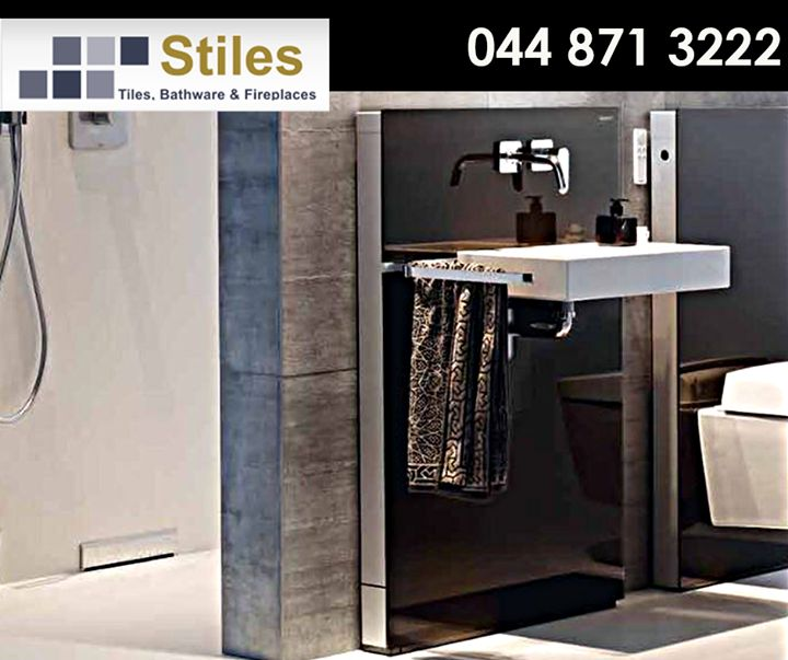 Let our range of #Geberit sanitary modules give your bathroom an unique look and feel. Contact #StilesGeorge on 044 871 3222 for more info or visit our showroom today! #bathroom