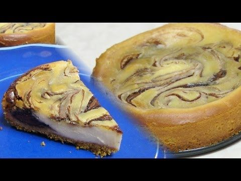 Marble Cheesecake video recipe- Eggless Cheesecake Recipe by Bhavna