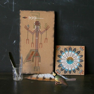 Native American Sand Paintings now featured on Fab.