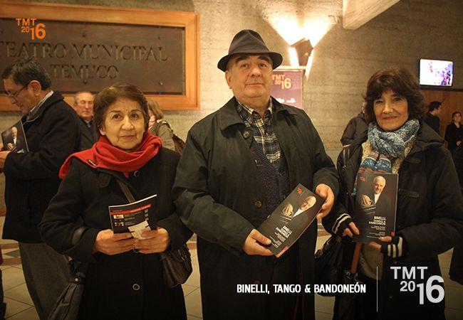 Daniel Binelli y la Orquesta Filarmónica de Temuco, Temporada Artística Teatro Municipal Temuco 2016