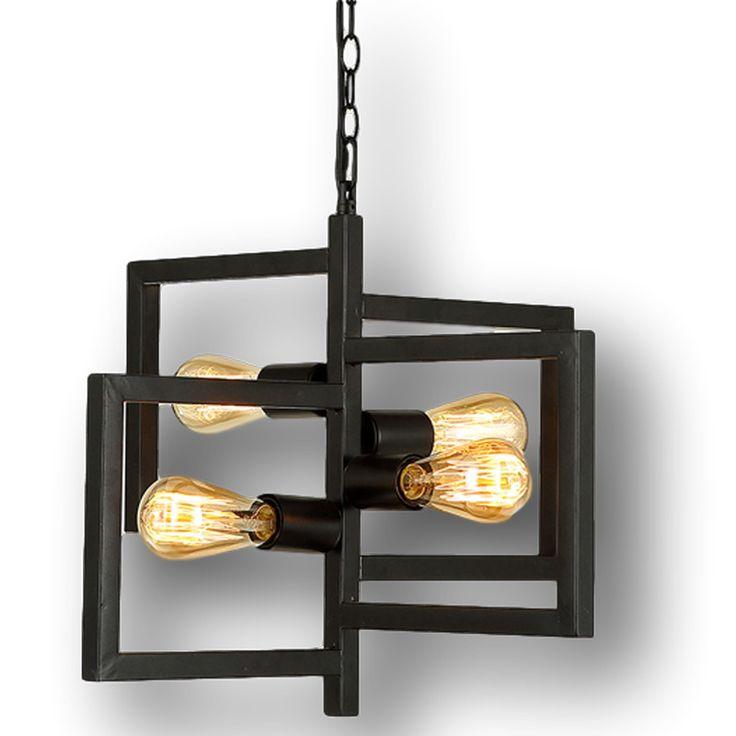 Lampada Edison Lampadario Illuminazione Lampadario Vintage Industrial ...